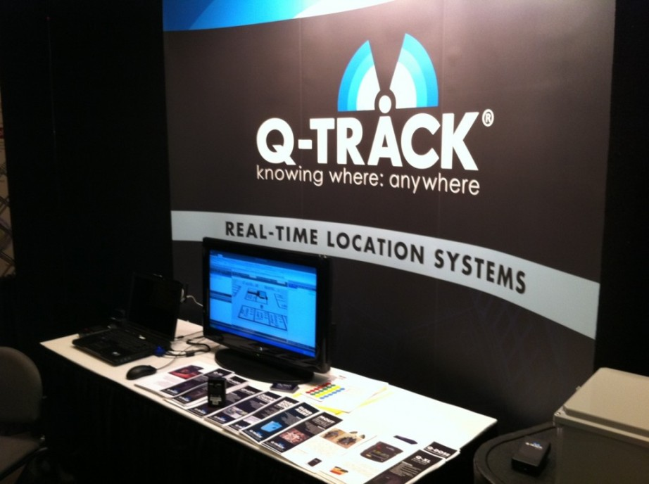 Q-Track Booth