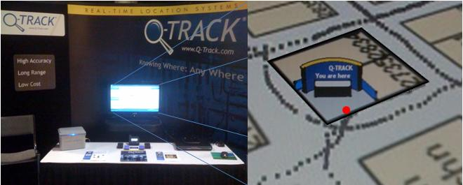 Q-Track is demonstrating NFER® RTLS in and around Booth 2737 at I/ITSEC 2011, the world's premier modeling, simulation, and training conference, in Orlando, FL today through December 1.